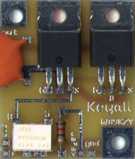 [Keyall circuit board picture - click for larger view of board ]
