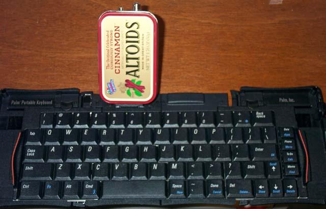 Palm Keyboard interface board