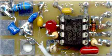 [PK-AM circuit board picture - click for larger view of board ]